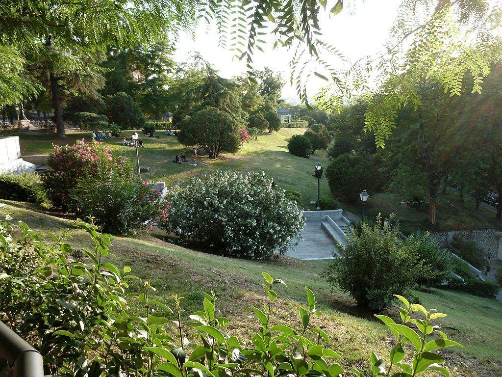 El Jardín de las Vistillas