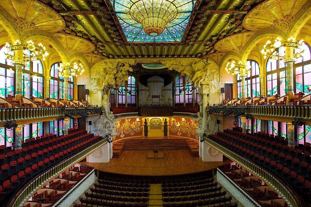 El Palacio de la Música Catalana