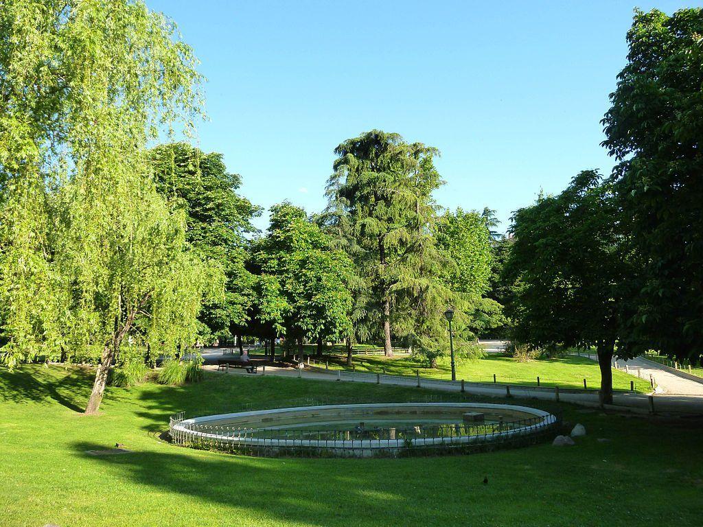 El Parque Berlín en Madrid