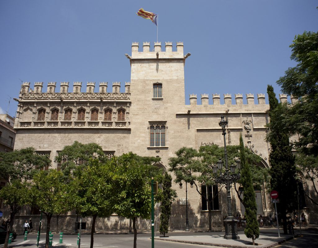 La Lonja de la Seda un sitio que ver en Valencia