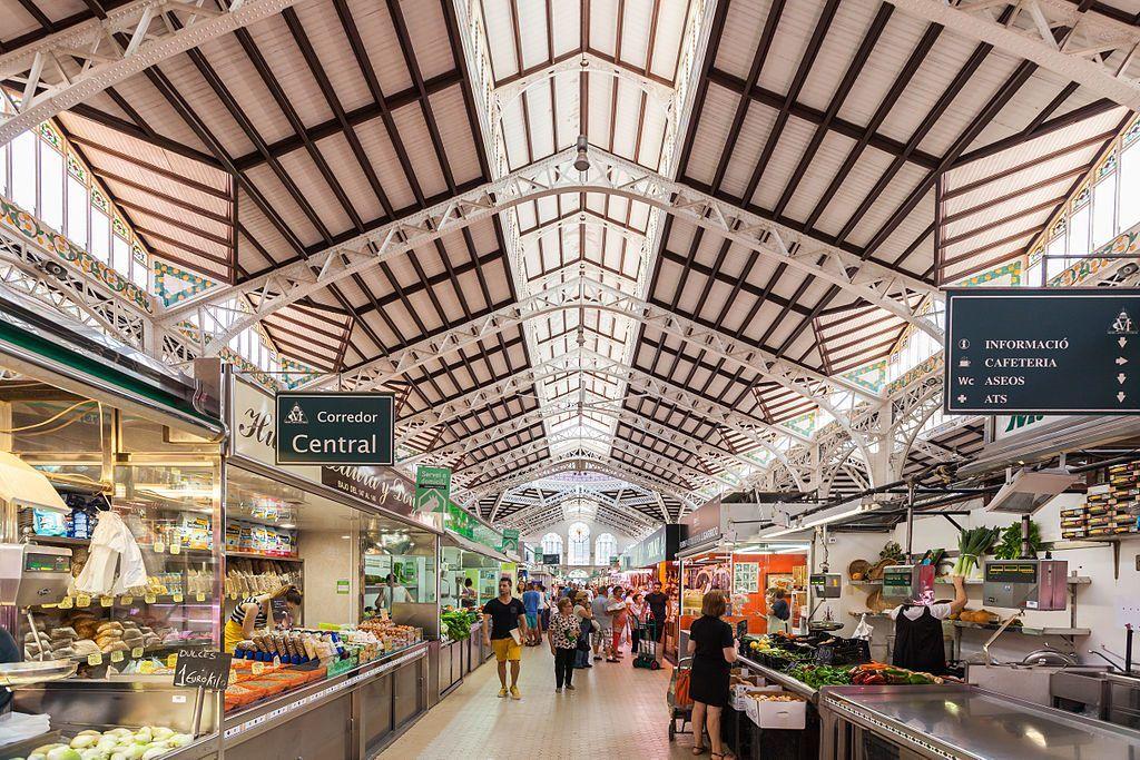 El Mercado Central que hacer en valencia