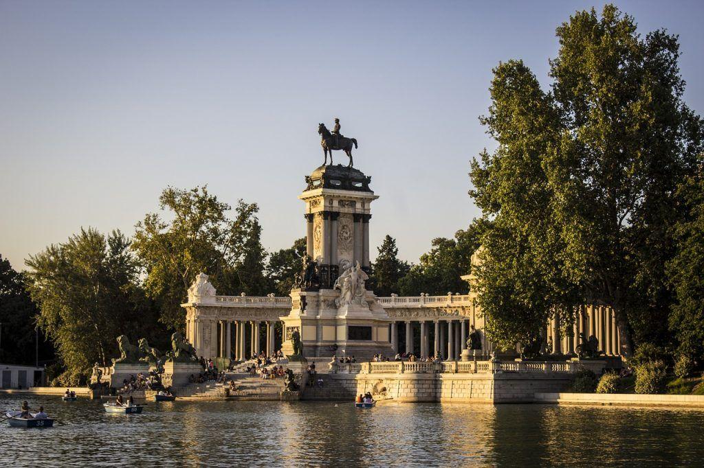 El Parque del Retiro - Madrid